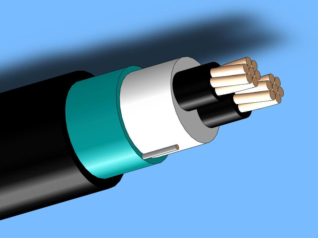600V Shields Control Cable